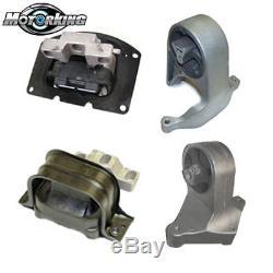 01-06 For Chrysler Sebring Stratus Engine Motor Mount 3049 2841 2842 3034 M372