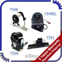 04-09 For Nissan Quest 3.5L Engine Motor & Trans Mount 4PCS For Auto 5Spd M894