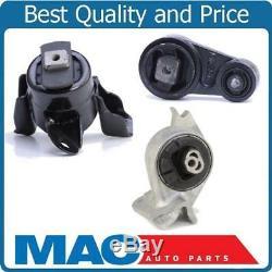 100% New Engine Motor Mount 3pc Kit for Ford Fusion SE & SEL 3.0L V6 10-12