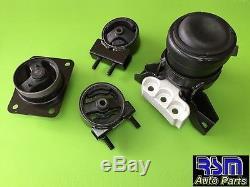10-13 Suzuki SX4 Engine Motor Mount Set AT (4 PIECE)