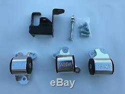 1320 Performance B & D series motor mount 2 bolt driver side billet EK 75A 500HP