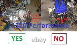 1320 Performance B & D series motor mounts billet civic delsol 2 bolt driver 65A
