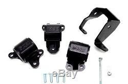 1320 Performance CRV BLK motor mounts mount kit RD1 1997-2001 B20 75A BLEMISH