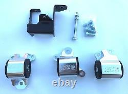 1320 Performance CRV Billet motor mounts mount kit RD1 1997-2001 B20 75A