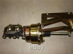 1953 1956 FORD TRUCK 7 DUAL POWER BRAKE BOOSTER PEDAL MASTER DISC DRUM VALVE