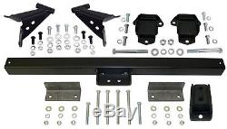 1955-57 Chevy Belair Engine and Transmission Mount Kit, Stock Engine Location