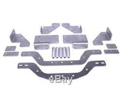 1967-72 Chevrolet GMC 4X4 LS & LT Swap Adjustable Cross Member Plain Steel