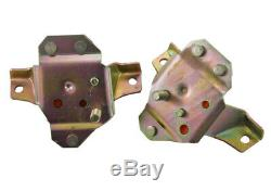 1984-1995 Mustang GT LX 5.0 V8 Red Polyurethane Poly Engine Motor Mounts Pair