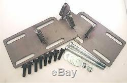 1988-1999 C1500 TRUCK K5 2WD Engine Mount Adapter Swap Kit LSx LS1 LS #14055K