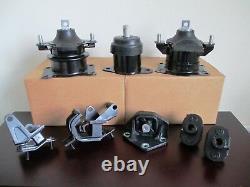 2003-2007 Honda Accord (3.0l, V6, Manual) - Set 8 Engine, Trans. & Susp. Mounts