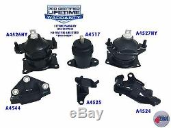 2004-2008 Acura TL 3.2L 3.5L Engine Motor & Trans Mount Set 6PC Honda Accord 3.0
