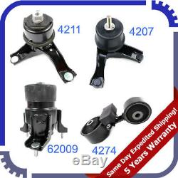 2007 2008-2011 For Toyota Camry 2.4L Engine Motor & Trans Mount 4PCS Set M1079