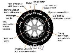 2-Pack Trailer Tire Rim ST175/80D13 1758013 B78-13 LRC 5 Lug White Modular