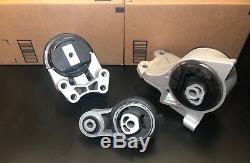 3 Engine Mounts &trans Mounts For 2008-2009-2010-2011-2012 Ford Taurus 3.5l V6