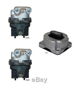 3 PCS Motor & Trans Mount For 2005-2010 Chrysler 300 5.7L 2WD