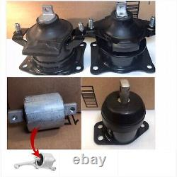 3pc Engine Mounts & 1 bushing For 2005-2006-2007-2008 Acura RL 3.5L Automatic