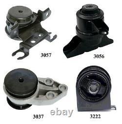 4 PCS FRONT MOTOR & TRANS MOUNT FIT 2001-2004 Ford Escape 2.0L & 3.0L