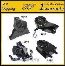 4 PCS MOTOR & TRANS MOUNT FOR 2002-2003 Mazda Protege5 2.0L Auto Trans