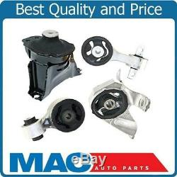 4 PC Motor Mount Kit Coupe ONLY for Honda Civic (SI) 06-11 2.0L