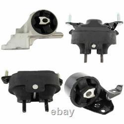 4 Piece Transmission & Hydraulic Engine Motor Mount Kit Set for Chevy Malibu G6