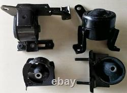 4pcSet fits Toyota Rav4 2001 2002 2003 2004 2005 2.0L 2.4L Motor Mounts