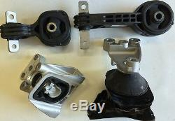 4pcs fit Honda Civic 2006 07 08 09 2010 2011 Auto Transmission 1.8L Motor Mounts