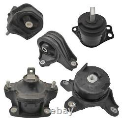 5pc Motor Mount Set for 13-17 Honda Accord (2.4L Engine Only) AT CVT Trans