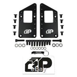 60-90 Engine Swap Motor Mount Adapter Plates GM LS LS1 LS2 LS7 6.0 5.7 6.2 STEEL