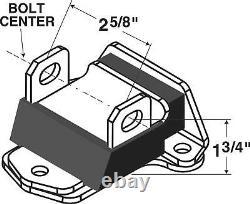 67-72 Camaro Chevelle LS Engine Swap Motor Mount Conversion Kit 2 5/8 BLACK ZIN