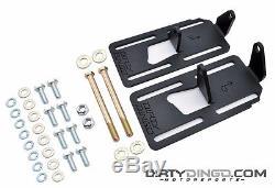 73-87(91) LS1 LS 2WD Chevrolet Adjustable Swap Mounts Plain Steel DD-2500C