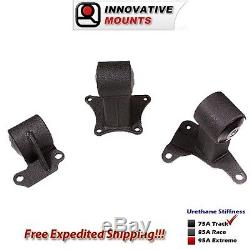 94-97 Honda Accord Conversion H22 Mount Kit with 4 Bolt Rear Mount 29751-75A
