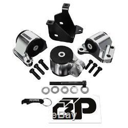 96-00 Civic EK 2 Post Hydro Billet Engine Swap Motor Mounts Kit B D Series 65A