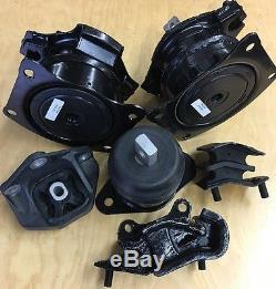Acura TL 2004 2005 2006 Automatic 3.2L V6 6pcSet Motor and Transmission Mounts