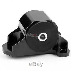 Aluminum 2-bolt Engine Torque Mount Black For 92-95 Civic/-00 Integra B/d Swap