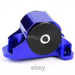 Aluminum 3-bolt Engine Torque Mount Blue For 92-95 Civic/-00 Integra B/d Swap