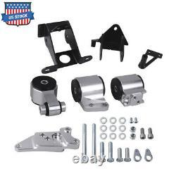 Aluminum Engine Motor Mount for 06-11 Honda Civic Acura CSX Si K20 K24 FA FG New