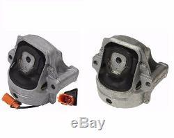 Audi A-4/5 (09-12) Engine Mount L+R (x2) OEM LEMFOERDER Motor Support Bracket
