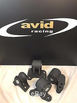 Avid Racing 90-94 Mitsubishi Eclipse (1G DSM) Mount Kit for TURBO AWD M/T only