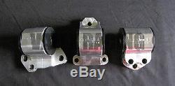 Avid Racing Billet Series Engine Mount Kit 92-95 Honda Civic 62A Street 2 Post