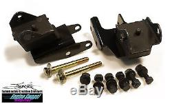 BCEA Schumacher Mopar Motor Mount Engine Swap Kit B, C, E-Body 273/318 Conversion