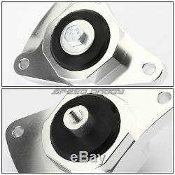 BILLET ALUMINUM ENGINE MOTOR MOUNT KIT FOR 02-06 ACURA RSX DC5/CIVIC Si EP3 K20
