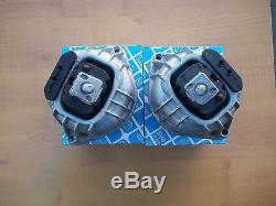 BMW E90 Engine Motot Mount Pair 2 Mounts HD 1 Year Warranty 330