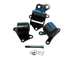 B Series Civic EK Motor Mounts B16 B18 LIFETIME WARRANTY B18C 300+ whp 96-00