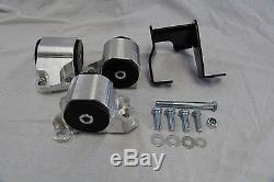 Billet 2-bolt Engine Motor Mount Kit CIVIC Ek D15 D16 B16 B18 B20 B D Series