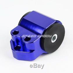 Billet Aluminum 3-bolt Engine Mount Kit Eg Eh/dc D15/d16 B16/b18 Swap Motor Blue