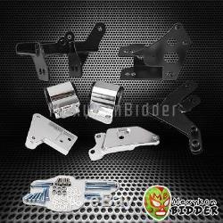 Billet Aluminum Motor Mounts Kit For Honda Civic 96-00 EK K20 Engine 70A Bushing