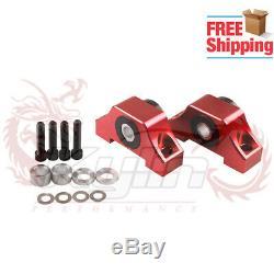 Billet Engine Motor Torque Mount D15 D16 B16 B18 B20 for 92-00 Honda Civic Red
