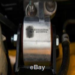 Black 92-95 Motor Mounts Kit For Honda D16 B16 B18 Eg B-series Engine