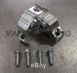 Blackworks BWR Solid Billet Torque Mounts Polished 92-00 Civic 94-01 Integra