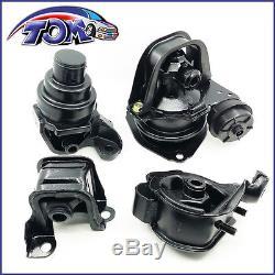 Brand New Set Of Engine Motor & Trans Mounts For Honda Accord 94-97 2.2l